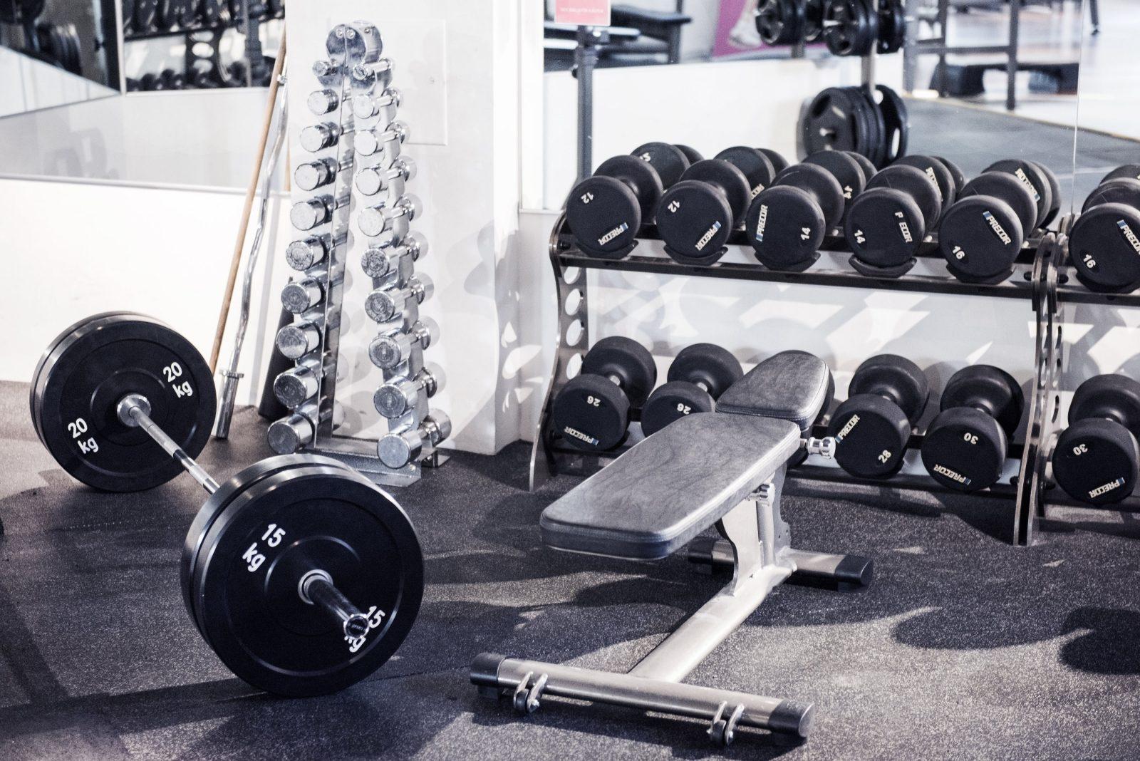 provträna gym stockholm